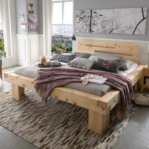 ein arvenbett arvenholzbett von lebarte gesund erholsam. Black Bedroom Furniture Sets. Home Design Ideas